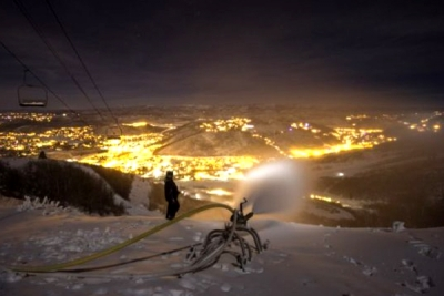 High Tech Snowmaking Fills in for Mother Nature