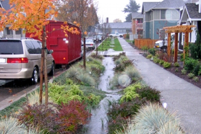 Stormwater Runoff Goes Green