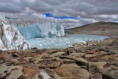 Weathering Change: Glaciers Melt, Water Rises