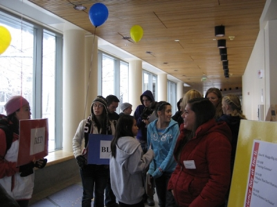 Students Consider a New Future at Science Day